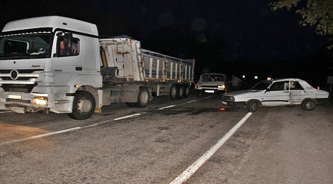 Çanakkale'de trafik kazası : 1 yaralı