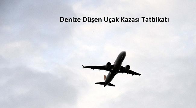 Denize Düşen Uçak Kazası Tatbikatı