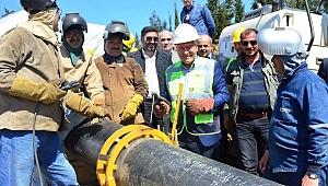 """""""İnsanca yaşam için doğalgazın Lapseki'ye gelmesi hayırlı, uğurlu olsun"""""""