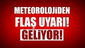 Meteoroloji'den Çanakkale için flaş uyarı