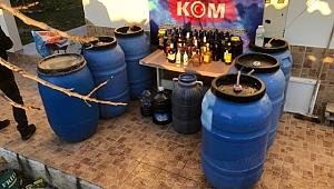 Çanakkale'de Kaçak İçki ve Uyuşturucu Operasyonu