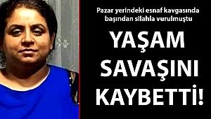 Çanakkale pazar yerinde silahla vurulan kadın hayatını kaybetti!