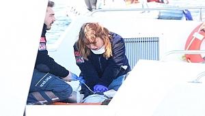 Gemide rahatsızlanan personel için seferber oldular