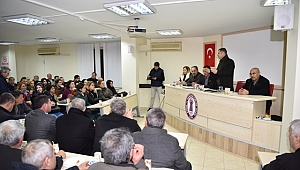 """Çan Belediye Başkanı Kuzu:"""" Çan Belediyesi esnafının emrinde"""" dedi."""