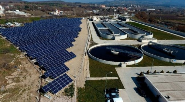 Çanakkale Belediyesi Şebeke Bağlantılı Güneş Enerjisi Santrali'ni Hizmete Sundu