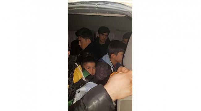 Çanakkale'de 21 mülteci yakalandı