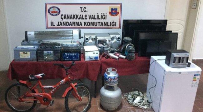 Çanakkale'de Hırsızlık: 4 Gözaltı