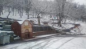 Çanakkale'de kar yağışı