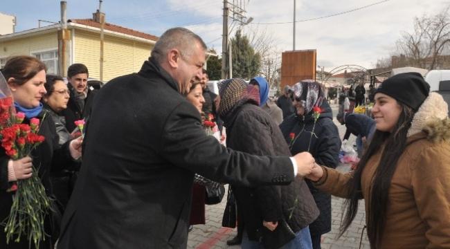 Geyikli'de Oruçoğlu'na sevgi seli