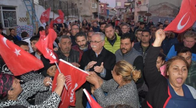 """Başkan Fevzipaşa'da: """"Alava Karnımız Tok! Bu Mahalle 1 Numaralı Mahalle"""""""