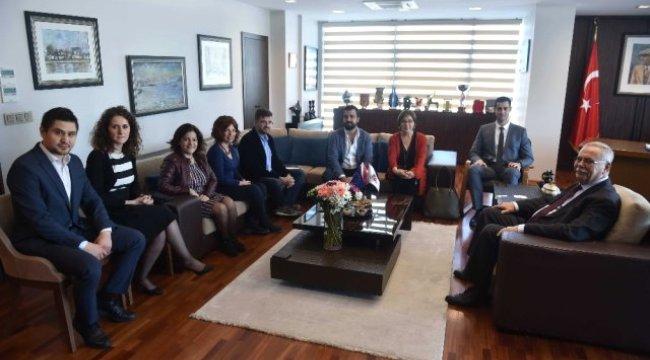 Başkan Gökhan, Tarragona Heyetini Ağırladı