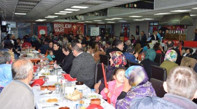 Çanakkale'de Gazi ve Şehit Aileleri İçin Yemek