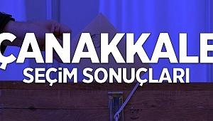 Çanakkale'nin yeni belediye başkanları belli oldu