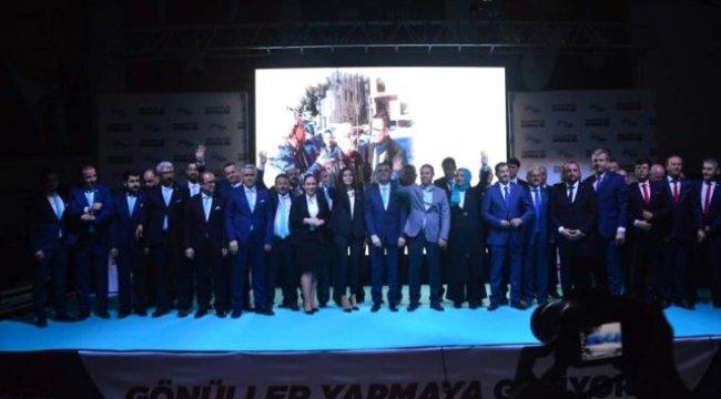 Erdoğan Projelerini ve Meclis Üyelerini Tanıttı
