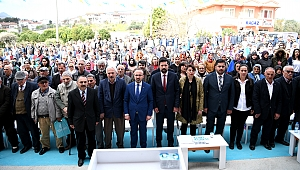 Gökçeada'da AK Parti Seçim Bürosu Açıldı