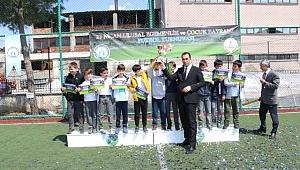 Biga'da Minikler Futbol Turnuvası