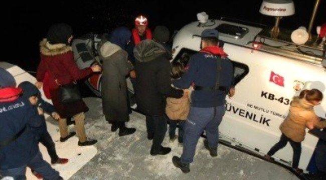 Çanakkale'de 19 Mülteci Yakalandı