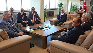 İl Emniyet Müdürü Celal Sel'den, Rektör Prof. Dr. Sedat Murat'a Ziyaret