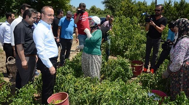 AK Parti Grup Başkanvekili Bülent Turan'14 Mayıs Dünya Çiftçiler Günü' nedeniye bir mesaj yayınladı.