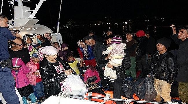 Çanakkale'de 78 mülteci yakalandı