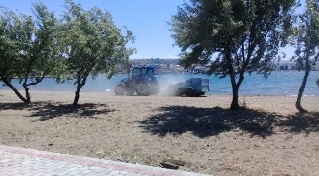 Çardak Kum Adası yaz sezonuna hazırlanıyor