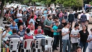 CHP Çan İlçe Teşkilatından iftar yemeği