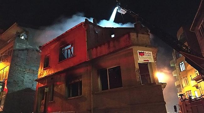 Metruk Binada Yangını