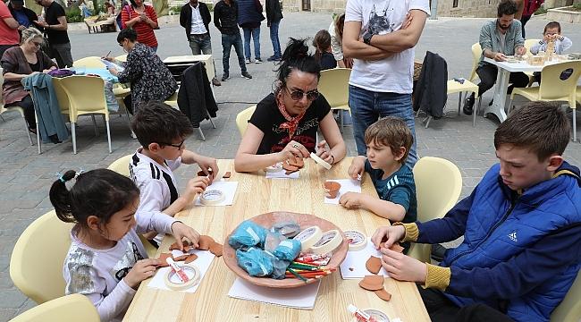 OPET'in 'Arkeo-Köy'ü Tevfikiye sanatseverlere kültür-sanat dolu bir gün yaşattı