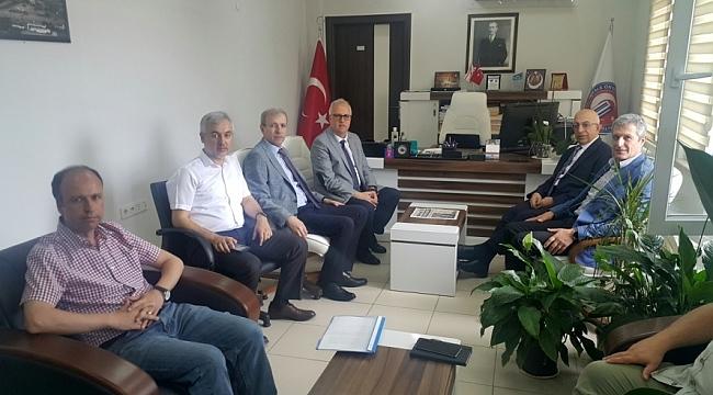 Rektör Prof. Dr. Sedat Murat Eğitim Fakültesini Ziyaret Etti