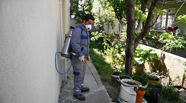 Sivrisineklere Yönelik İlaçlama Çalışmaları Devam Ediyor