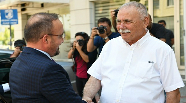 AK Partili Turan'dan CHP'li Ülgür Gökhan'a ziyaret