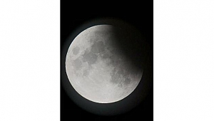 Parçalı ay tutulması, eşsiz görüntülere sahne oldu