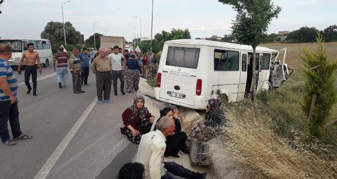 Tarım işçilerinin can pazarı: 17 yaralı