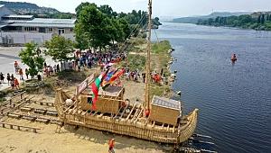 Antik dönemin izlerini taşıyan 'Abora-IV' Çanakkale'ye geliyor