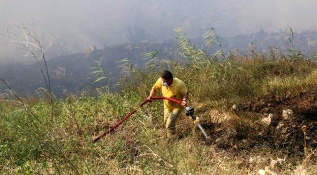 Çanakkale AFAD'dan yangın açıklaması