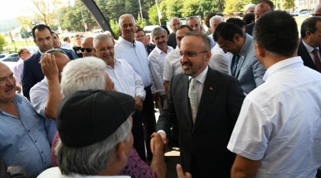 """Turan, """"Ordu göreve diyenler PKK'ya sessiz kalıyor"""""""