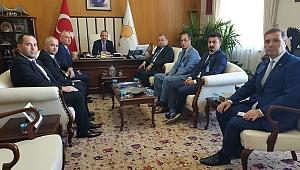 BİGA TSO'DAN BÜLENT TURAN'A ZİYARET.