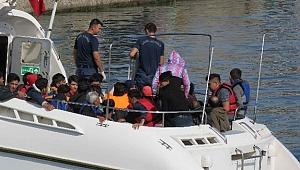 Çanakkale'de 92 düzensiz göçmen yakalandı