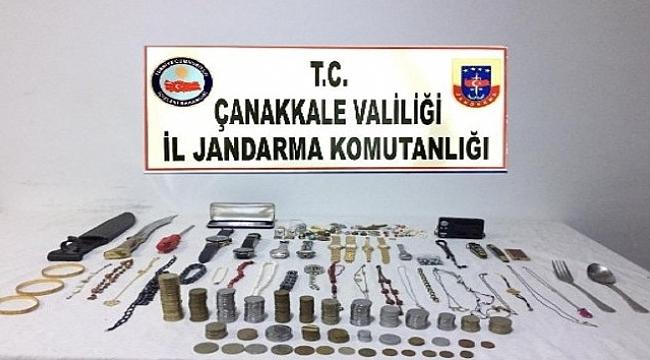 Çanakkale'de hırsızlık zanlısı tutuklandı