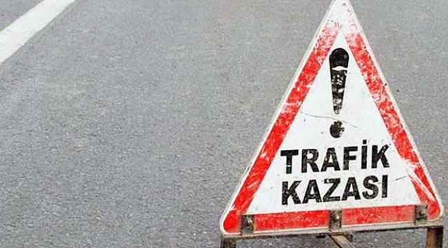 Çanakkale'de kamyonet motosiklete çarptı: 1 ölü