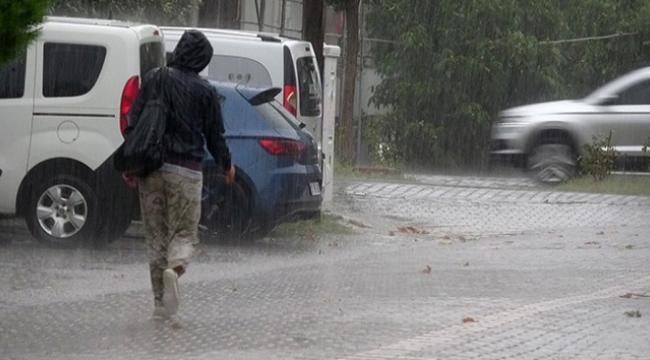 Çanakkale'ye yağmur uyarısı