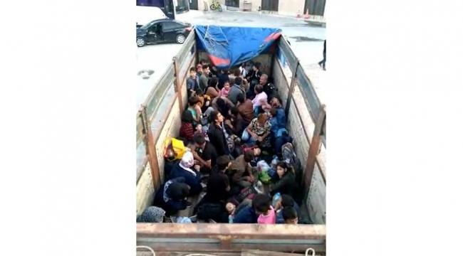 Çanakkale'de 77 mülteci yakalandı