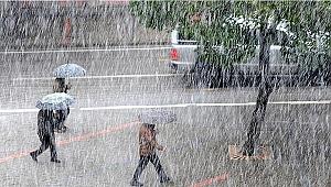 Dikkat! Meteoroloji'den yine kuvvetli yağış uyarısı