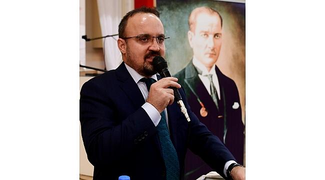 AK Parti Grup Başkanvekili Bülent Turan'ın 10 Kasım mesajı