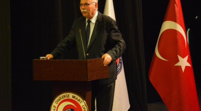 Belediye Başkanı Ülgür Gökhan, Dünya Şehircilik Günü Kapsamında ÇOMÜ'de Konferans Verdi