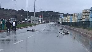 Çan'da trafik kazası: 1 ölü