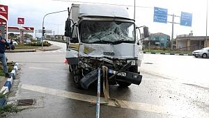 Çanakkale'de trafik kazası: 1 yaralı