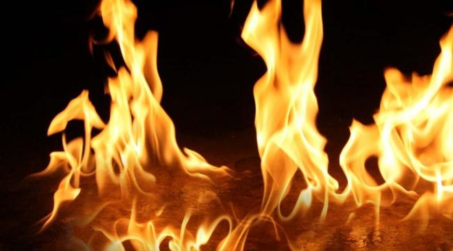Çiftlik evinde çıkan yangın ormana sıçramadan söndürüldü.