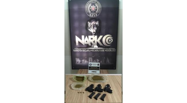 Biga'daki uyuşturucu operasyonunda 8 şüpheli yakalandı