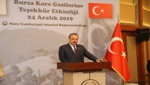 Bursa'da Kore gazilerine teşekkür programı